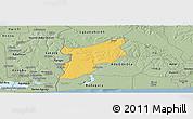 Savanna Style Panoramic Map of EgbadoSouth