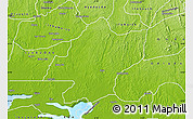 Physical Map of IjebuEast