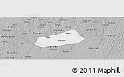 Gray Panoramic Map of IjebuNorth