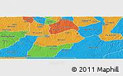 Political Panoramic Map of IjebuNorth