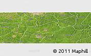 Satellite Panoramic Map of IjebuNorth