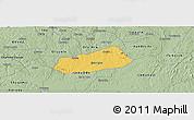 Savanna Style Panoramic Map of IjebuNorth