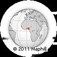 Outline Map of Ikole
