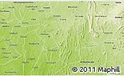 Physical 3D Map of Atakumosa