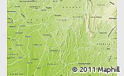 Physical Map of Atakumosa