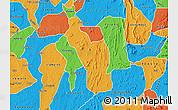 Political Map of Atakumosa