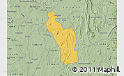 Savanna Style Map of Atakumosa