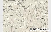 Shaded Relief Map of Atakumosa
