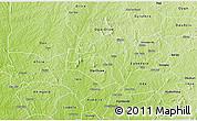 Physical 3D Map of Ejigbo