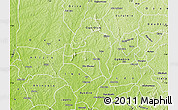 Physical Map of Ejigbo