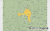 Savanna Style Map of Ejigbo