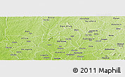 Physical Panoramic Map of Ejigbo