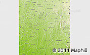 Physical Map of Osun