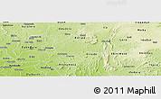 Physical Panoramic Map of Obokun