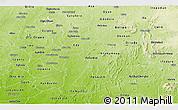 Physical Panoramic Map of Osun