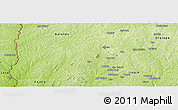 Physical Panoramic Map of Ifedapo