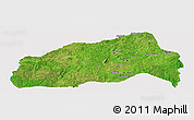 Satellite Panoramic Map of Ifedapo, cropped outside