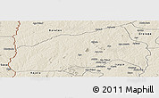 Shaded Relief Panoramic Map of Ifedapo