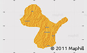 Political Map of Irepo, cropped outside