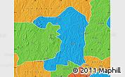Political Map of Iseyin