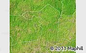 Satellite Map of Iseyin