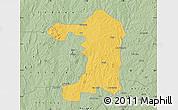 Savanna Style Map of Iseyin