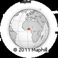 Outline Map of Iseyin