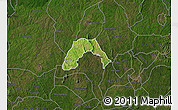 Satellite Map of Ogo-Oluw, darken