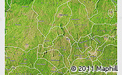 Satellite Map of Ogo-Oluw