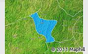 Political Map of Orelope, satellite outside