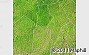 Satellite Map of Oyo