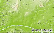 Physical Map of Nasarawa