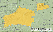 Savanna Style Map of Nasarawa