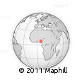 Outline Map of Nasarawa