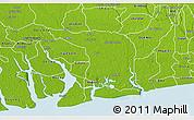 Physical 3D Map of Khana