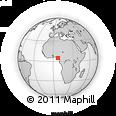 Outline Map of Obio/Akp