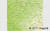 Physical 3D Map of Sokoto