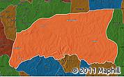 Political Map of Gummi, darken