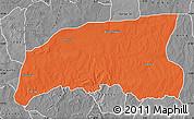 Political Map of Gummi, desaturated