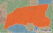 Political Map of Gummi, semi-desaturated