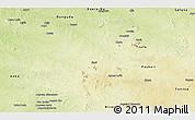 Physical Panoramic Map of Gusau