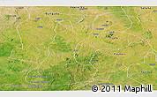 Satellite Panoramic Map of Gusau
