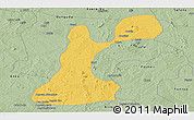 Savanna Style Panoramic Map of Gusau