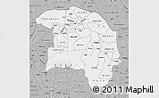 Gray Map of Sokoto