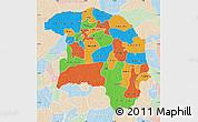 Political Map of Sokoto, lighten
