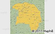 Savanna Style Map of Sokoto