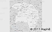 Silver Style Map of Sokoto