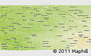 Physical Panoramic Map of Sokoto