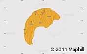Political Map of Tsafe, cropped outside