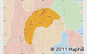 Political Map of Tsafe, lighten